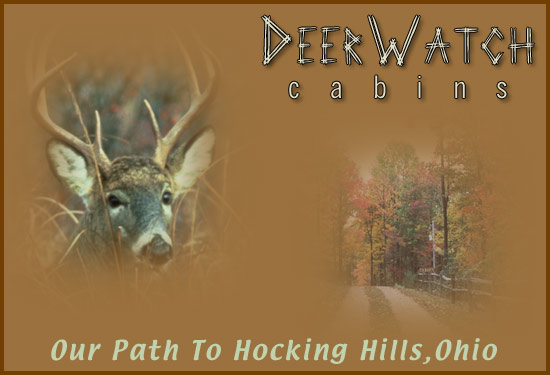 Hocking Hills Cabin Rentals by Deer Watch Cabins Ohio